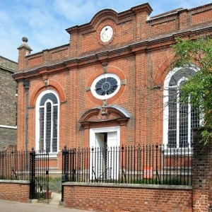 The red brick Presbyterian chapel built in 1711 was the venue for the 2014 AGM on 17 May.